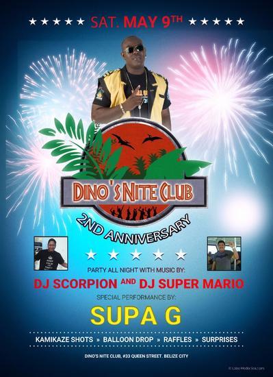 Dinos anniversary cv