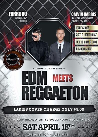 Edm meets reggaeton cv