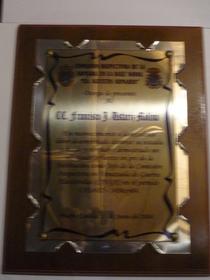 Placas diplomas 023 cv