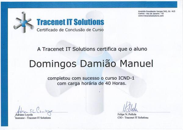 Certificado  10  cv