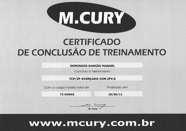 Certificado  9  cv