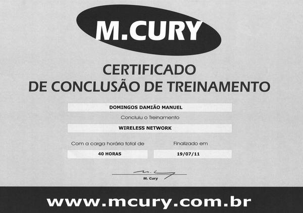 Certificado  8  cv