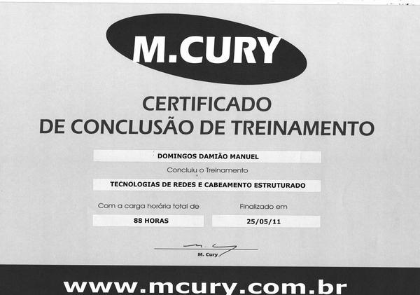 Certificado  7  cv