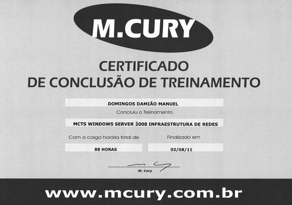 Certificado  4  cv