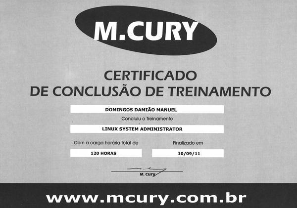 Certificado  5  cv