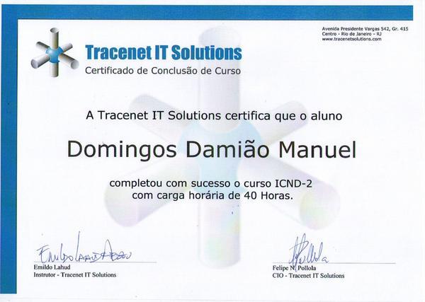 Certificado  11  cv