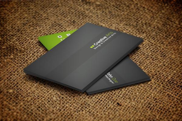 Business card mock up cv