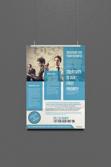 Free poster or frame mock up from freegraphicdesign.net cv
