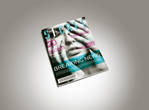 Magazine mockup   www.carlosviloria.com cv