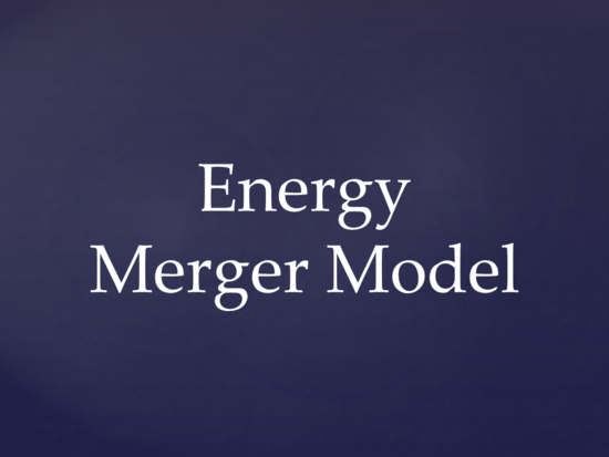 Merger model 2016 thumb