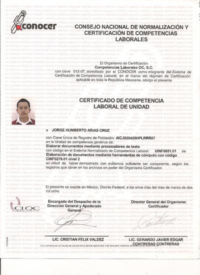 Confetex 003 cv