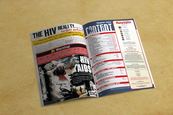Relevant student magazine2 cv