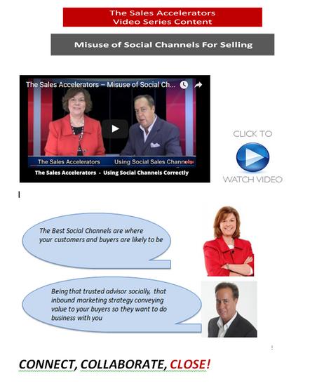 Video page social selling sales accelerators thumb