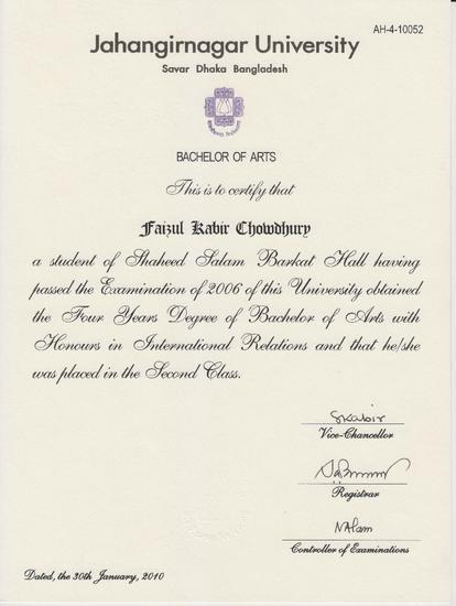 Certificat 004 cv