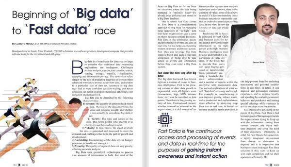 Big data big data cv