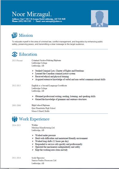 Resume thumb