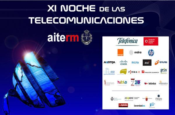 Xi noche de las telecomunicaciones cv