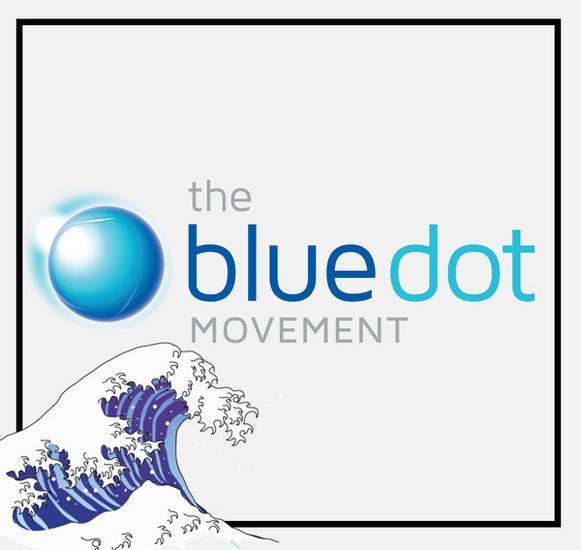 Blue dot movement pic cv