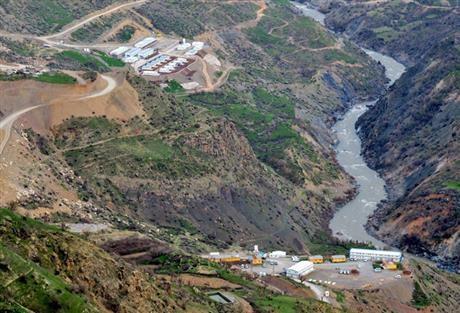 River by siirt hydropower plant cv