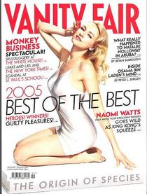 Vanity fair cover cv