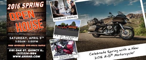 Website open house banner cv