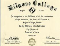 Kilgore cv