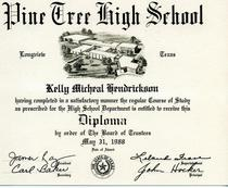 High school cv