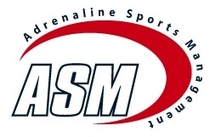 Adrenaline sports management logo cv