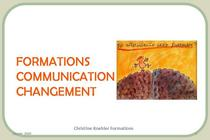Formations communication changement cv