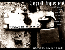 Social injustice flyer copy cv