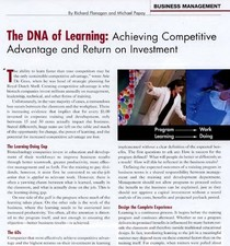 The dna of learning cv