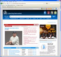 Beckett homepage cv