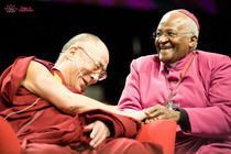 Seeds   dalai lama with archbishop desmond tutu at interspiritural day cv