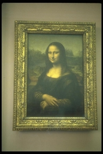 Da vinci s mona lisa at le louvre paris france cv