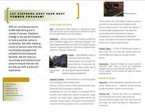 Capstone brochure cv