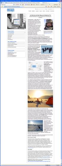 De mindjet press release mar 2008 page cv