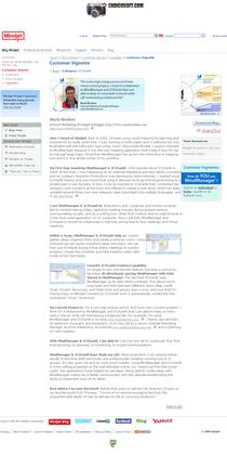 Microsoft website mark mosher vignette cv