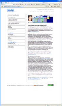 Us nindjet case studies featured customer page cv