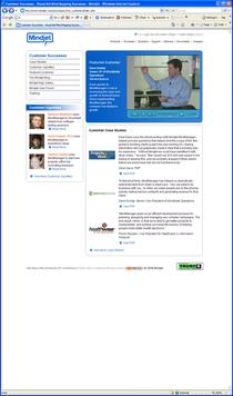 Us nindjet case studies homepage cv
