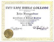 Newlifebiblecollege cv