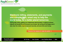 Image payitgreen.org intro screen cv