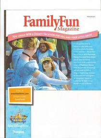 Familyfun print and online promotion cv