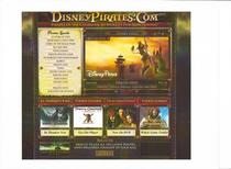 Walt disney pictures pirates minisite cv
