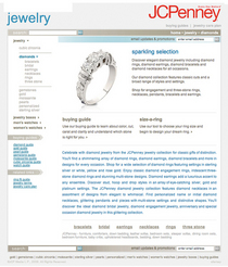 Jcp jewelry cv