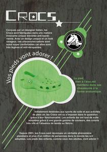 Affiche crocs cv