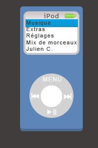 Ipod bleu cv