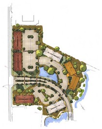 1   site plan rendering cv