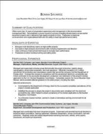 Resume first page cv