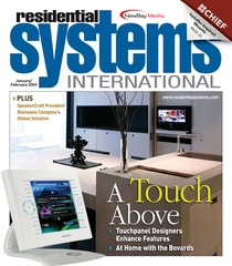 Residential systems international cover cv