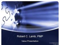 Robert lamb   value presentation cv